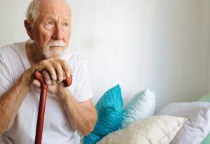 Senior Citizen facing financial risk